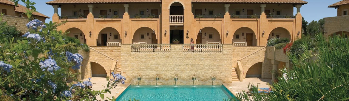 The Elysium Hotel Paphos is a 5* deluxe hotel, superbly located overlooking the Mediterranean, next to the ancient Tomb of the Kings in Paphos, Cyprus. Elysium in Greek mythology means