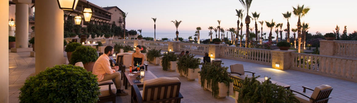 The Elysium Hotel Paphos Cyprus is a stunning Elysium is a 5 star deluxe hotel in Paphos, Cyprus, superbly located overlooking the Mediterranean, next to the ancient Tomb of the Kings in Paphos, Cyprus