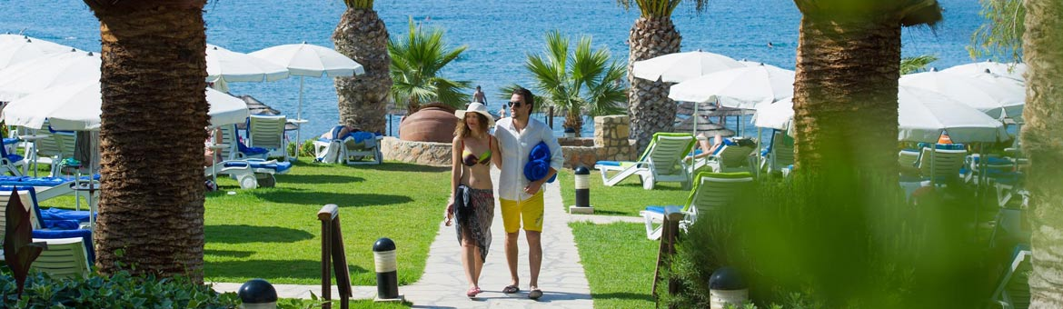 Mediterranean Beach Hotel Limassol Cyprus - In addition to the exterior pool oasis, the Mediterranean Beach Hotel  also features a serene indoor pool which is heated in winter months. For energetic guests, a well-equipped gym, a floodlight tennis court an
