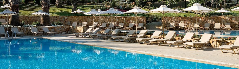 Sani Beach Club Pool